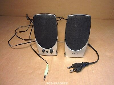 Trust 14931 Universe 2.0 Speaker Set 5W for PC, Laptop - White/Black