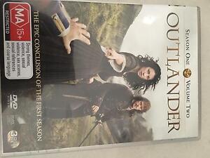 Outlander Season 1 Volume 2 2016 NEW DVD Perth Perth City Area Preview