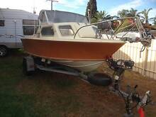 15Ft Streaker half cab fishing boat Karrinyup Stirling Area Preview