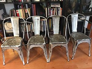 Industrial metal chairs Kings Cross Inner Sydney Preview