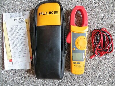 Fluke 336 True Rms Clamp Meter Leads Screen Protector Soft Case