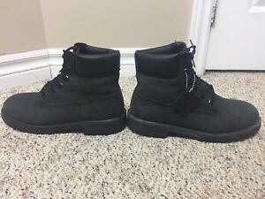 Black timberlands boots