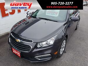 2015 Chevrolet Cruze 1LT BACK UP CAMERA, REMOTE STARTER, TOUC...