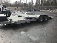 Galvanized Tilt Deck Trailer Muskoka Ontario Preview