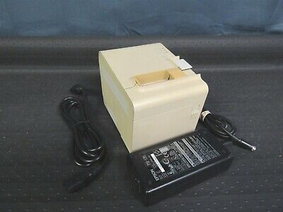 Epson M165a Tm-t90 Pos Thermal Printer 990404e Ethernet Network W Power Adapter