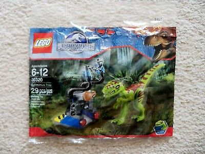 LEGO Jurassic Park Jurassic World - Rare - Gallimimus Trap 30320 - New & Sealed