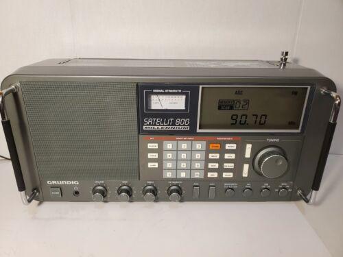GRUNDIG SATELLIT 800 MILLENNIUM AM/FM/ SW1/ SW2/ SW3 SHORTWAVE RADIO