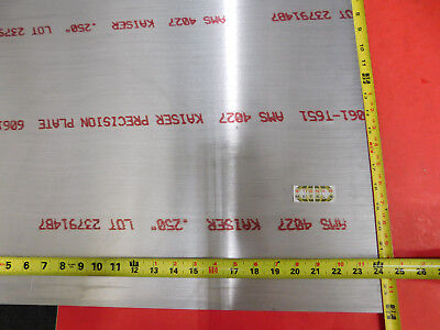 14 X 24x 24 Aluminum 6061 Sheet Plate .250 Thick T6 New Flat Mill Bar Stock