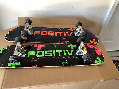 2 Positiv Team Complete Skateboard 32''