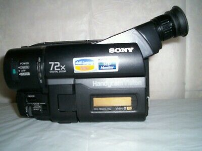 Sony CCD-TRV27E  Video 8xr 8mm Camcorder, Sony Handycam Video Camera Colour LCD