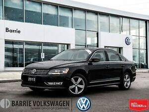 2015 Volkswagen Passat 2.0 TDI/HEATED SEATS/0.90%/LEATHER/SUNROO