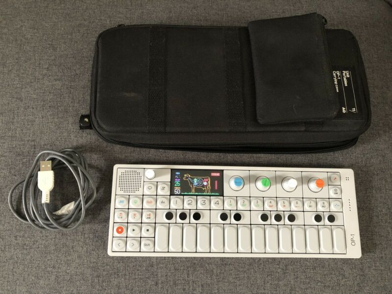 Teenage Engineering OP-1 Portable Keyboard Synthesizer - Excellent Condition