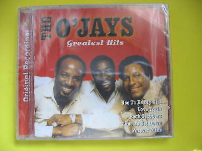 THE O'JAYS-GREATEST HITS. CD ALBUM. BEST OF, 70'S SOUL DISCO FUNK. BRAND