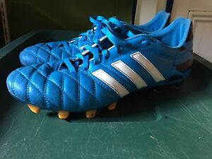 Adidas Leather Outdoor Cleats - 8.5