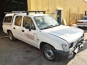 Wrecking 1998 Toyota Hilux RZN149R Dual Cab Ute Auto RWD Port Adelaide Port Adelaide Area Preview