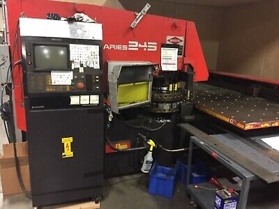 Amada Aries 245 Punch Press 20 Stations Thick Turret