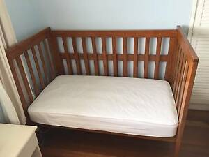 Grotime Sonatina 4-in-1 Baby Cot & Mattress - Excellent condition The Gap Brisbane North West Preview