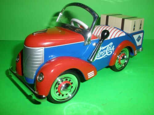 PEPSI COLA 1941 GARTON PACKAGE DELIVERY TRUCK PEDAL CAR DIECAST