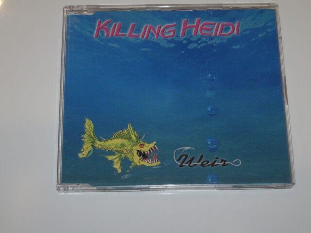 KILLING HEIDI *RARE 2 track CD  ' WEIR '  1999 GC