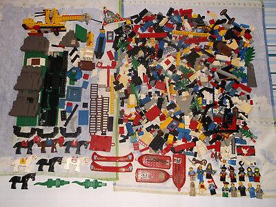 LOT DE JOUETS LEGO (ANCIENNE GENERATION) - EN VRAC - EN BON ETAT