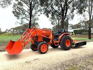 Kubota B3300SU Tractor & Slasher West Bendigo Bendigo City Preview