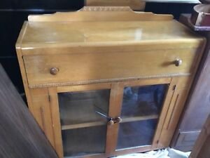 Stained cabinet