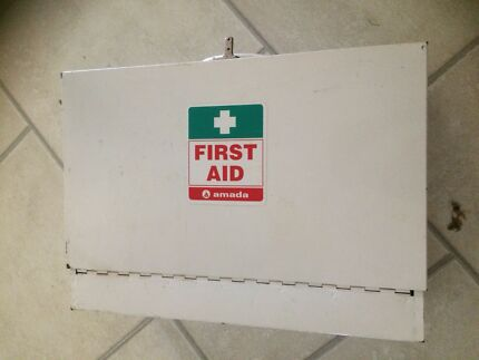 First aid metal box Claremont Meadows Penrith Area Preview