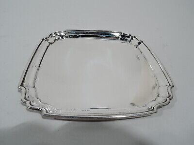 Sterling Silver Necklaces 43cm Flattened Oval Open Belcher T-Bar