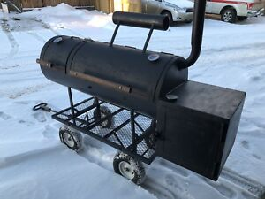 Commercial grade meat smoker