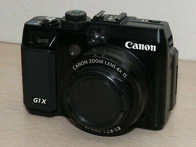 Canon PowerShot G1 X 14.3MP Digital Camera - Black - Used, spot(s) - #2