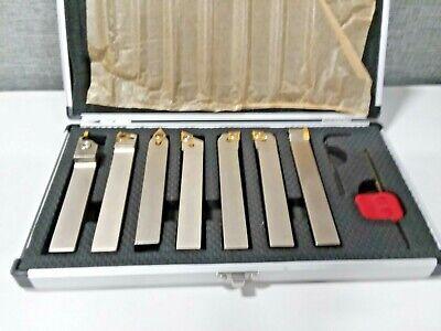 Oscarbide 58 Shank 7 Piecessetindexable Carbide Lathe Turning Tool Holder