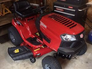 17.5 hp craftsman riding lawnmower