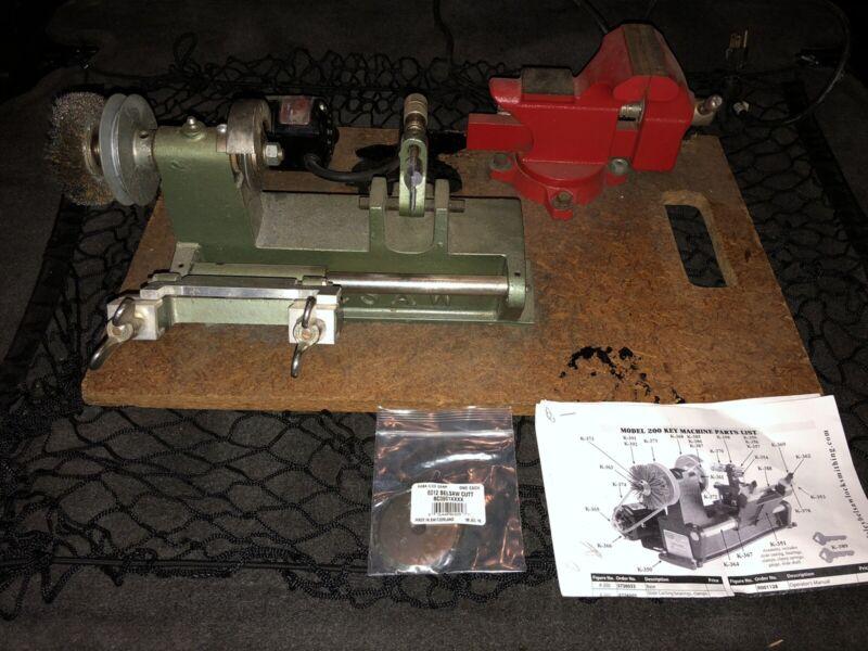 Belsaw Model K-350 Key Machine Dayton Motor Locksmith