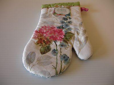 (New! Floral Flower Garden Flowers Oven Mitt Kitchen Cotton Mitt Kay Dee Designs)