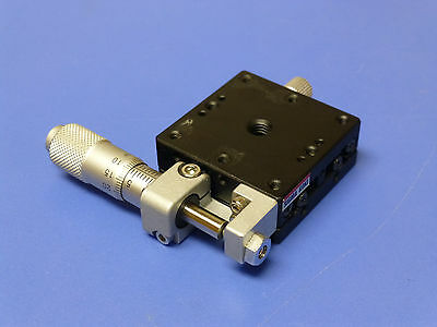 Optosigma Sigma Koki Tsd-401sr Linear Translation Stage With Micrometer 13mm