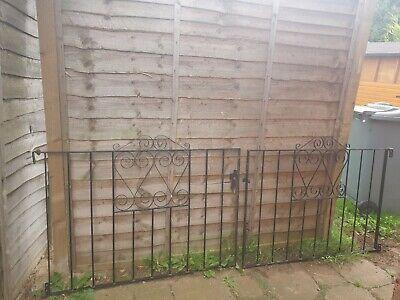 Metal Garden Driveway Gates, pair