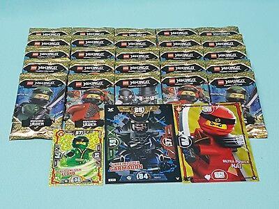Lego® Ninjago™ Serie 4 Trading Card Game 25 Booster / 125 Sammelkarten Neu