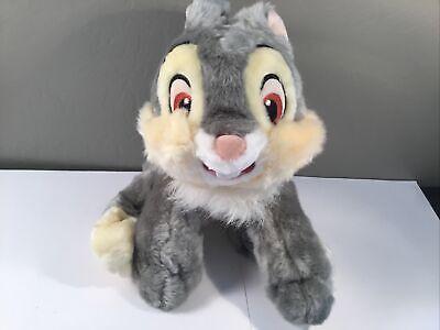 "RARE Vintage Disney Store Exclusive Bambi Thumper Soft Plush Toy 11"" RETIRED!!!"