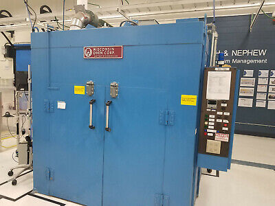 Wisconsin Powder Coatingcuring Oven Heating Area 5 X 5 X 6