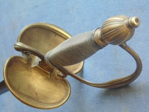 BEAUTIFULL OFFICER SWORD  MLE 1767 VERSION 1775/1776 INFANTRY SAID MOUSQUETEER