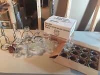 Candle holder lot for sale, almost 100 pieces all together!