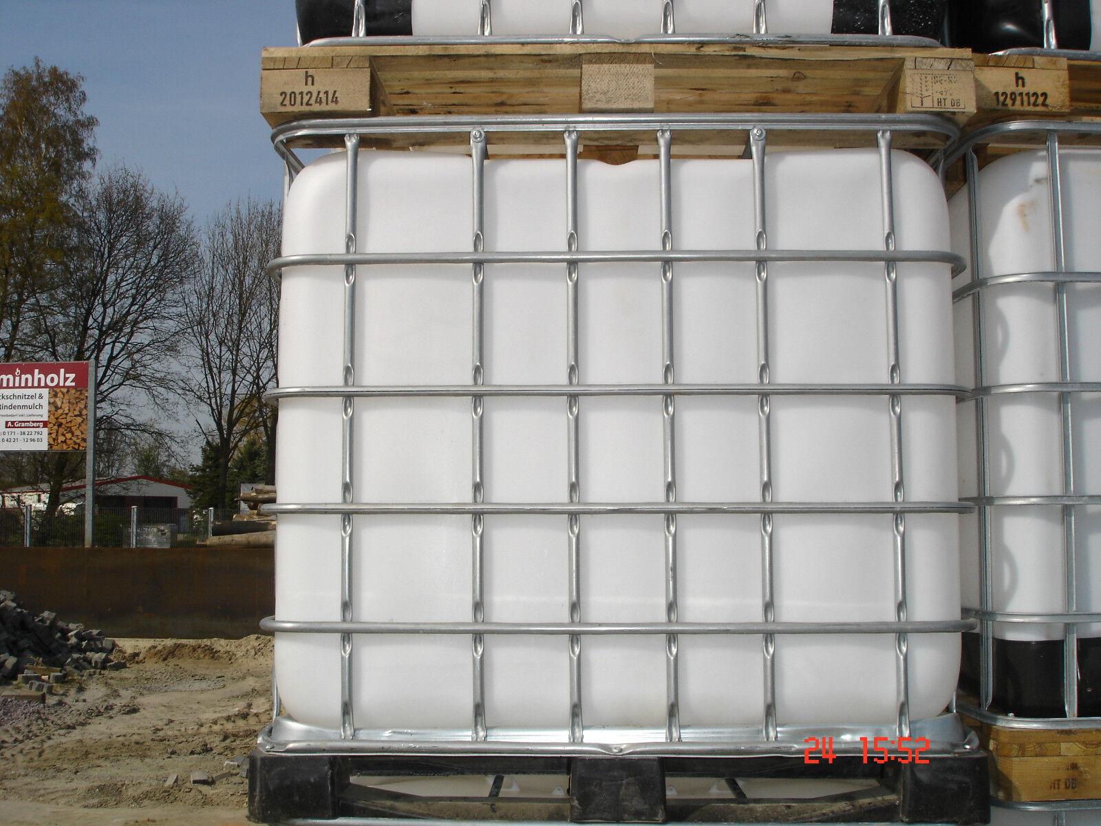 1000 l wassertank ibc container regentonne wei e blase auf holzpalette eur 35 00. Black Bedroom Furniture Sets. Home Design Ideas