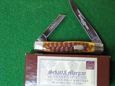Schatt & Morgan by Queen-Keystone Series XVI-042155-1/600-Half Whittler-2006