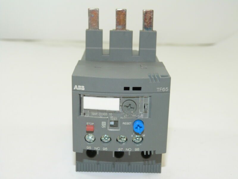 ABB TF65-53 Thermal Overload Relay 44-53a NEW 1yr Warranty