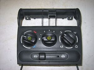 VAUXHALL CORSA B 97-00 HEATER CONTROL PANEL FOR AIR CONDITIONING