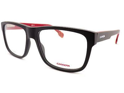 Carrera Herren Mattschwarz über Deep Red 55mm Optisch Rx Brillengestell 1101/V