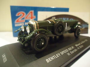 IXOMODELS 1/43 BENTLEY SPEED SIX WINNER LE MANS 1929 #1