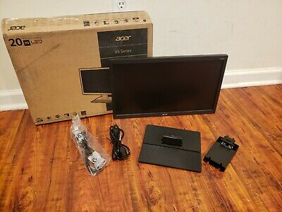 "Acer V206HQL 1600x900 19.5"" Flat-Panel HD LED Monitor"