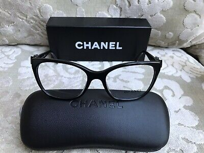 CHANEL Eyeglass RX Authentic frames with Bows 3284Q c.501 140mm New(other) (Chanel Bow Eyeglasses)