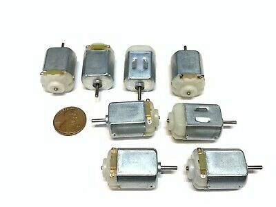 8 Pieces Miniature Small Mini Micro Motor Car Robot Diy Dc 3v 5v 4.5v Truck B6
